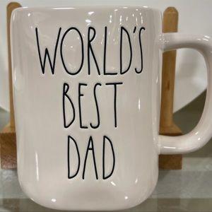 Rae Dunn WORLD'S BEST DAD Mug